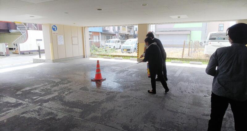 202108SI佐野駅前 消防訓練