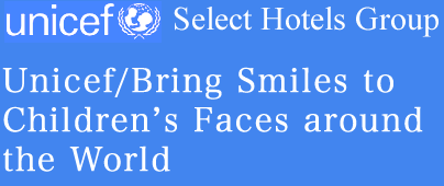 Unicef/Bring Smiles to Children's Faces around the World